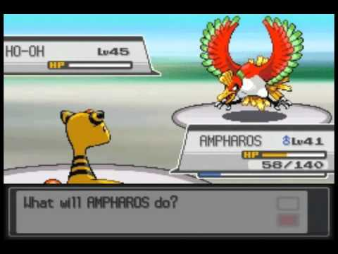 Pokemon Heart Gold - The Rainbow Pokemon, Ho-oh [US]