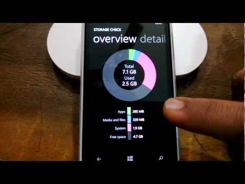 Storage Check App to clear Other Storage on Windows Phone