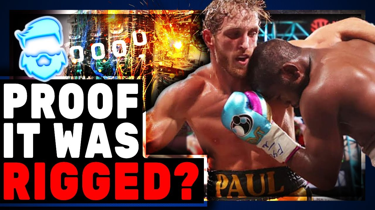 Floyd Mayweather Vs Logan Paul Called RIGGED As Suspicious Video Emerges