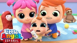 ¡Mami, Nosotros Cuidaremos a Bebé Juan! | Canciones Infantiles | Little Angel en Español