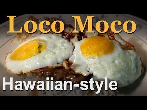 Best Hawaiian Loco Moco Recipe - Eggs, Hamburger, Gravy & Rice