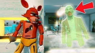 ANIMATRONICS vs MONSTER MYSTERY (GTA 5 Mods For Kids FNAF Funny Moments) RedHatter