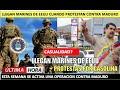 Llegan Marines Por Maduro A La Vez Que Oposicion Iniciaria Protestas