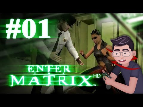 Enter the Matrix HD - Let's Play #01 - The lady with the cool hair!
