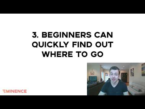 Make it easy for beginners to find out where to go  (Podcast website checklist step 3)