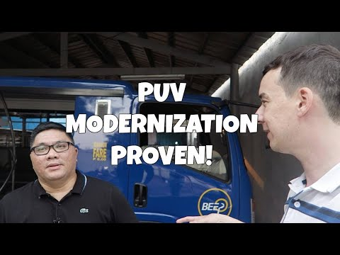 BEEP Program PUV Modernization