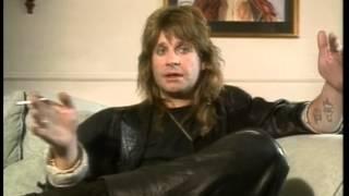 Ozzy Osbourne Hard N Heavy Interviews