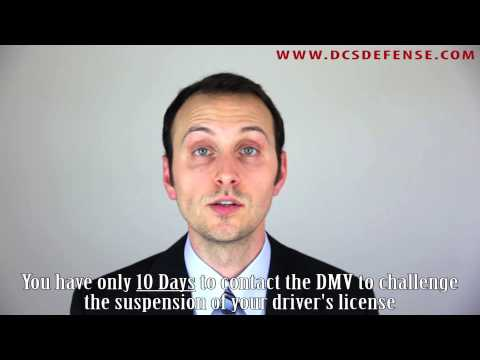 What Is The 10 Day Rule For DMV Hearings in California?