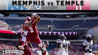 Memphis vs Temple Breakdown: Owls upset turnover-prone No.23 Memphis Tigers | CBS Sports HQ