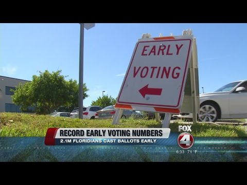 2 Million Vote Early in Florida