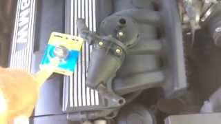 Bmw e36 323i M52 warm engine start problem - Solved - The