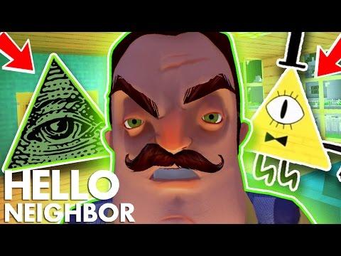 Minecraft Hello Neighbor - My Neighbor Is The Illuminati (Minecraft Roleplay)