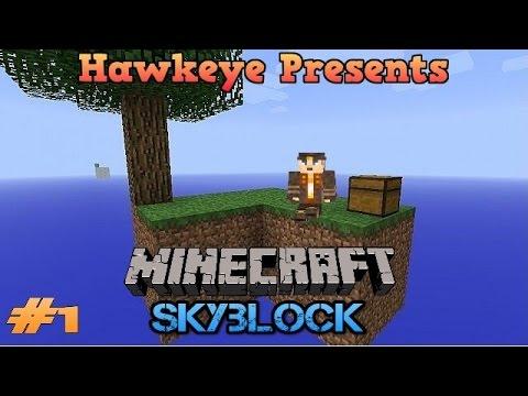 Minecraft SKYBLOCK - Ep. #1 - Cobblestone Generator