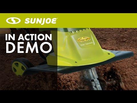 TJ604E - Sun Joe 16 Inch 13.5 AMP Electric Garden Tiller/Cultivator - Live Demo