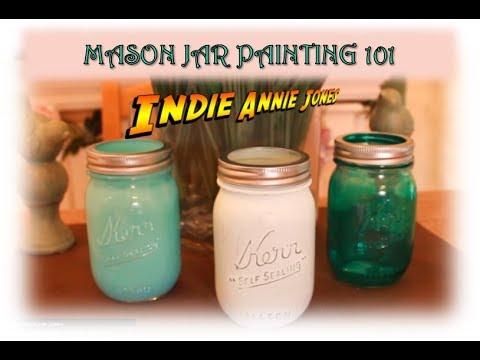 Mason Jar Painting 101