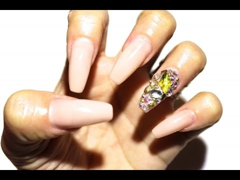 HOW TO: Change Your Nail Shape Without Removing Acrylics ♥