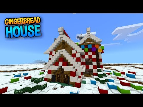 Christmas Gingerbread House in Minecraft