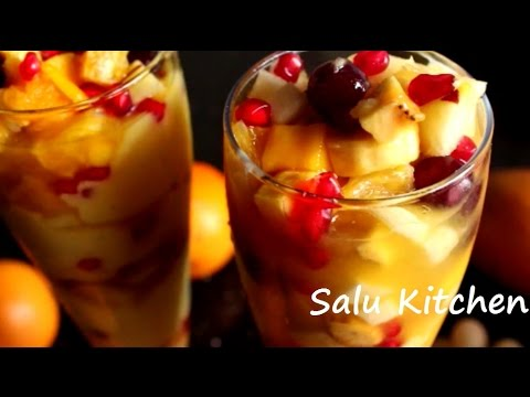 How to make Easy fruits Salad