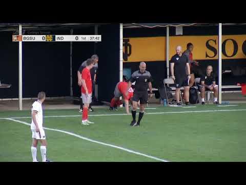 NCAA Men's Soccer - September 19, 2017 - Bowling Green at Notre Dame
