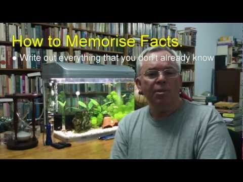 How to Remember Mathematical Facts