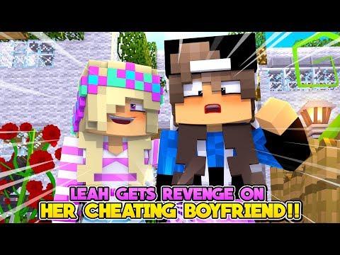 Minecraf REVENGE PRANKS ON LEAH'S CHEATING BOYFRIEND!!- Donny & Leah Adventures