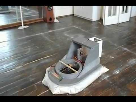 RC Hovercraft Second Test