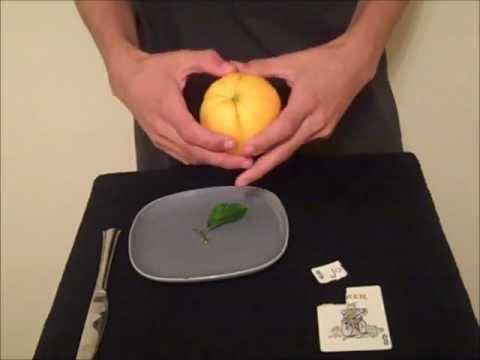Card to Lemon/Orange Trick Revealed