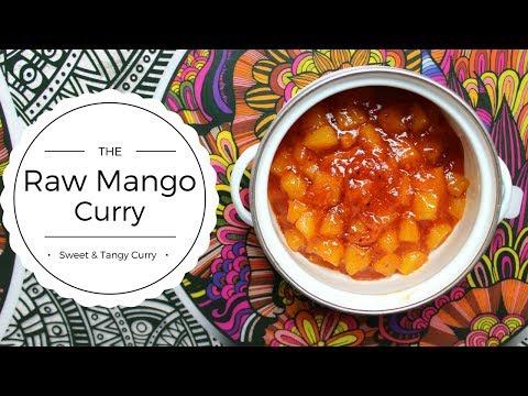 Kache Aam ki Sabzi Recipe | Raw Mango Sabji Recipe in Hindi | Green Mango Curry
