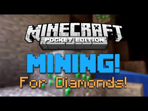 My Guide to Mining in Minecraft PE! (How to Find Diamonds)