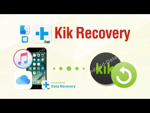 Kik Recovery - Restore Kik Messages with dr.fone tookit for iOS