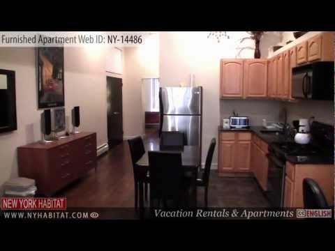 Manhattan, New York City - Video tour of a furnished apartment on West 123rd Street ( Harlem )