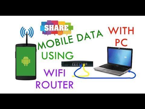 how to share mobile internet to pc using wifi router Digisol
