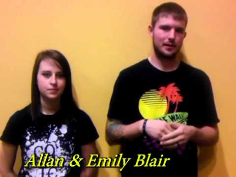 First Time Home Buyers-Allan and Emily Blair
