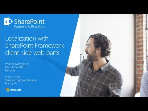 PnP Webcast - Localization with SharePoint Framework client-side web parts