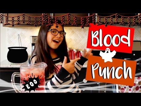 Halloween Ideas: Blood Punch