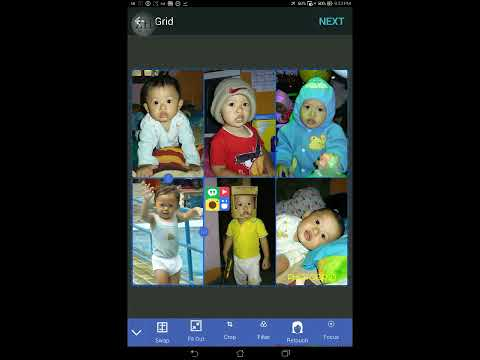 How to Easily Create Photo Grid on Android/iOS (Photo Collage Maker)