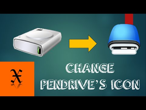 How To Change PENDRIVE's ICON