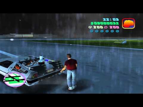 GTA Bttf  - Time travelling DeLorean