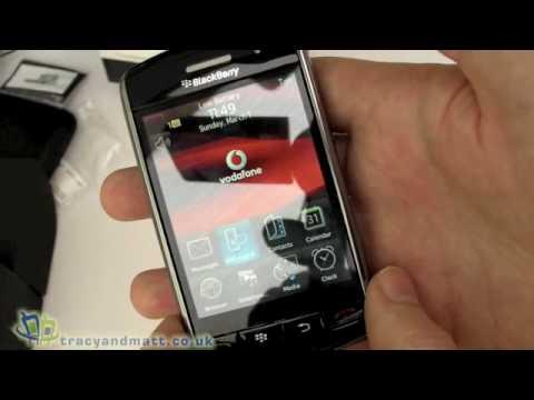 Blackberry Storm 9500 unboxing
