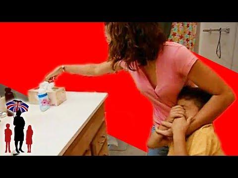 Mother Shoves Soap In Kid's Mouth | Supernanny