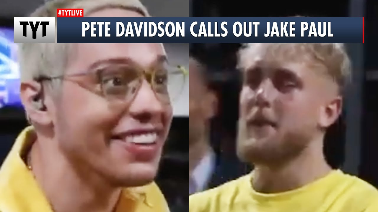 Pete Davidson Calls Out Jake Paul... To HIS FACE!