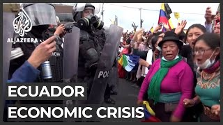 Ecuador faces worst unemployment crisis in Latin America