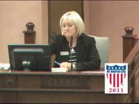 Fayetteville City Council Meeting April 23, 2012