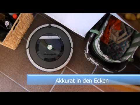 Praxiseinsatz iRobot Roomba 870