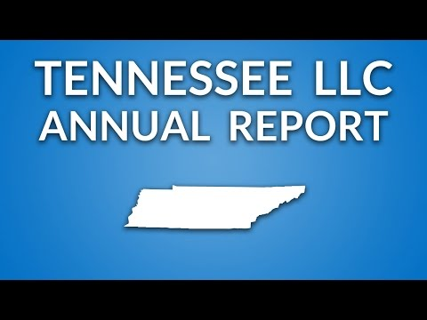 Tennessee LLC - Annual Report