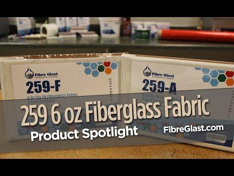 259 6 oz Fiberglass Fabric