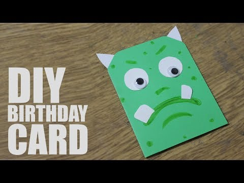 How to make a greeting card for birthday for kids - Handmade Cards for Birthday