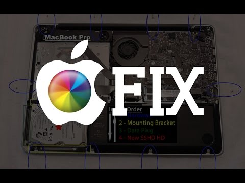 MacBook Pro - Hard Drive Replacement FULL VIDEO!