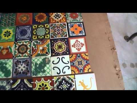 Sal Romito   tiled table part 1