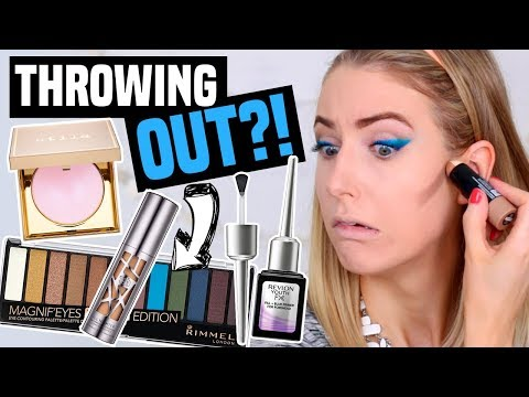 FULL FACE OF MAKEUP I'M THROWING OUT?! || Giving Products ONE LAST CHANCE